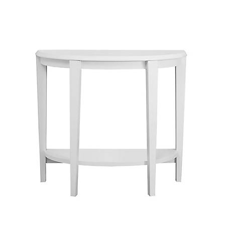 Monarch Specialties 36 in. L White Hall Console