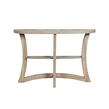Monarch Specialties 47 in. L Dark Taupe Hall Console