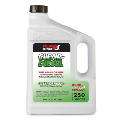 Buy Power Service Clear Diesel Fuel and Tank Cleaner Online