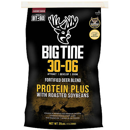 Big Tine 30-06 Protein Plus with BT-90, 25 lb.