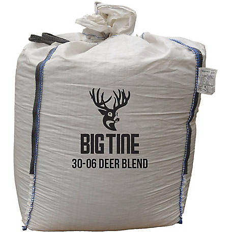 Big Tine 30-06 Fortified Deer Blend with BT-90, 1000 lb. Bulk Tote