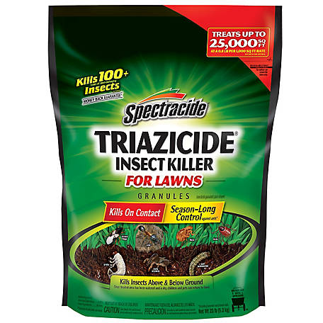 Spectracide Triazicide Insect Killer for Lawns Granules, 20 lb, HG-53960, 53960