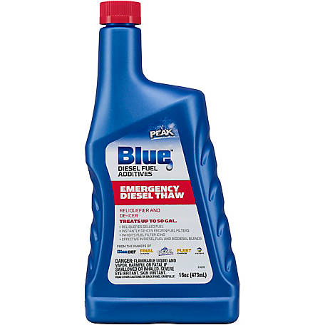 PEAK Blue Emergency Diesel Thaw 16 oz, BDEDT16