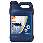 Shell ROTELLA T6 Full Synthetic 5W-40 Heavy-Duty Motor Oil, 2.5 gal.