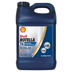 Shop 2.5 gal. Rotella T6 Synthetic BlendDiesel Engine Oil at Tractor Supply Co.