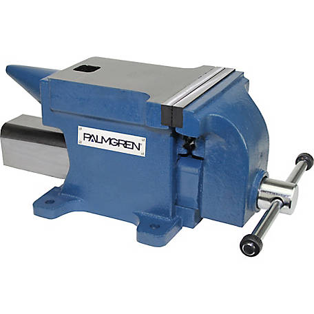 Palmgren 6 in. Anvil Bench Vise