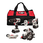 PORTER-CABLE 20V (max.) Cordless 4-Tool Combo Kit
