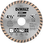 DeWALT 4 in. Continuous Rim Turbo Diamond Blade