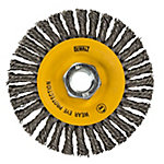 DeWALT 4-1/2 in. x 5/8-11 in. Stainless Steel Stringer Bead Wire Wheel