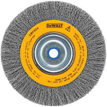 DeWALT 6 in. Crimped Bench Grinder Wheel, DW4904