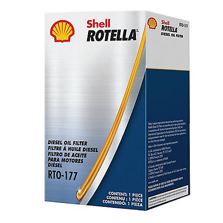 Shell Rotella RTO-177 Oil Filter