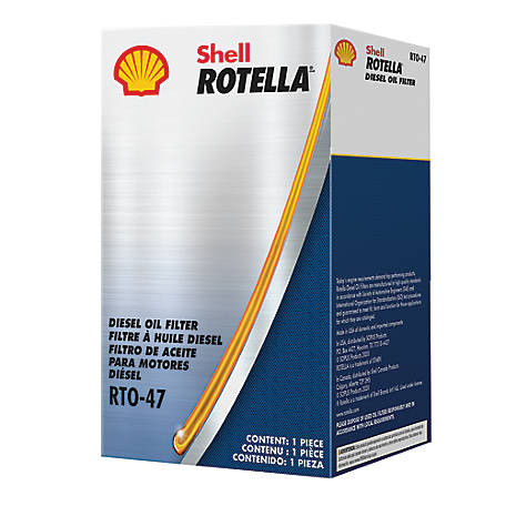 Shell Rotella RTO-47 Oil Filter