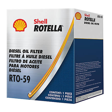 Shell Rotella RTO-59 Oil Filter