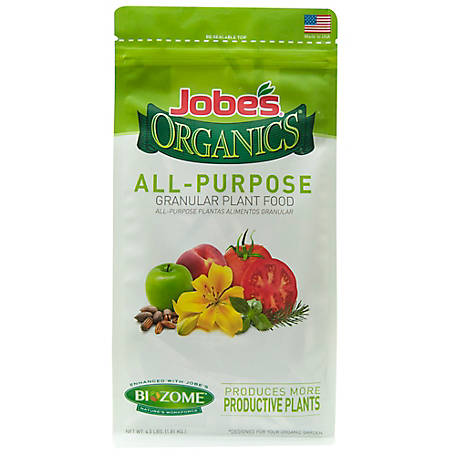 Jobe's Organic Granular All Purpose Fertilizer 8 lb., 9536