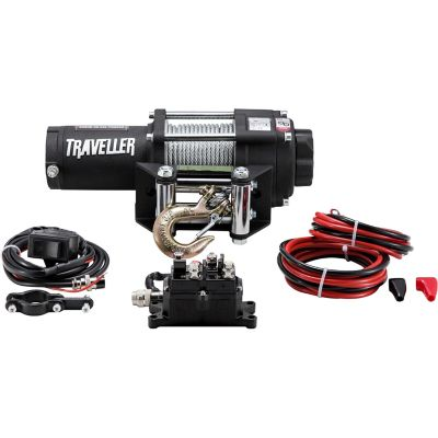 Buy Traveller 12V ATV Electric Winch; 2; 500 lb. Capacity Online
