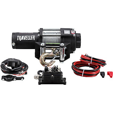 Traveller 12V ATV Electric Winch, 2,500 lb  Capacity at Tractor Supply Co