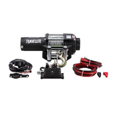 Buy Traveller 12V ATV Electric Winch; 3; 500 lb. Capacity Online