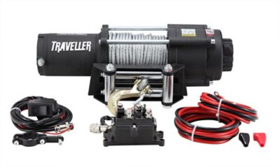 Buy Traveller 12V UTV Electric Winch; 4; 500 lb. Capacity Online