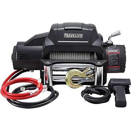 Traveller 12V Truck Electric Winch, 9,000 lb  Capacity at Tractor Supply Co