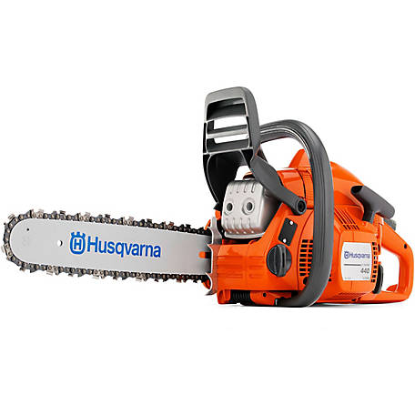 Husqvarna 440-E Rancher 18 in. 40.9cc 2-Cycle Gas Chainsaw, 967650901