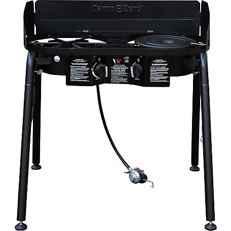 Camp-Zero Double-Burner Camp Stove