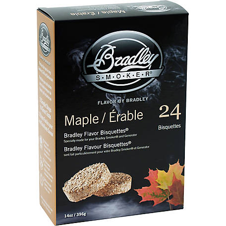 Bradley Smoker Flavor Bisquettes, Maple 24-Pack