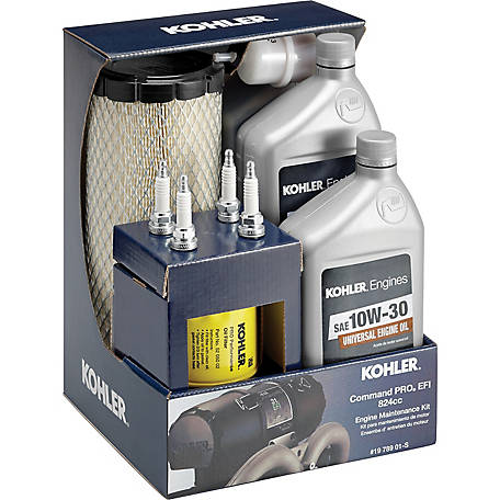 Kohler Engine Maintenance Kit for Command PRO EFI 824 ECV850-880 Twin  Cylinder at Tractor Supply Co