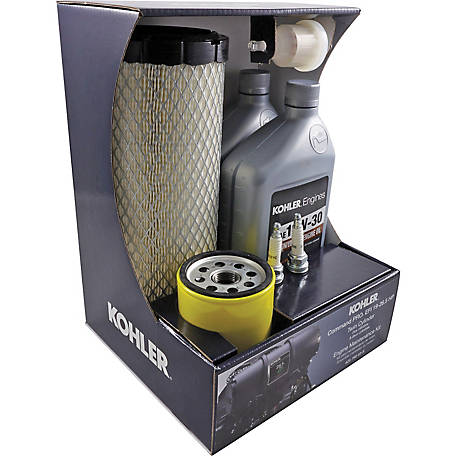 Kohler Engine Maintenance Kit for Command PRO EFI ECH/ECV630 Through ECH/ECV749 Twin Cylinder