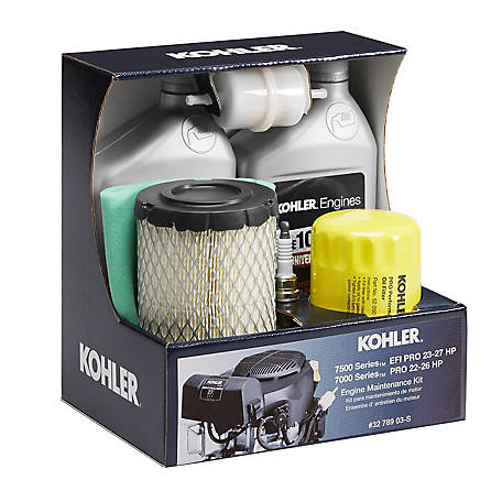 Kohler Engine Maintenance Kit for 7000/7500 Pro Series Twin Cylinder