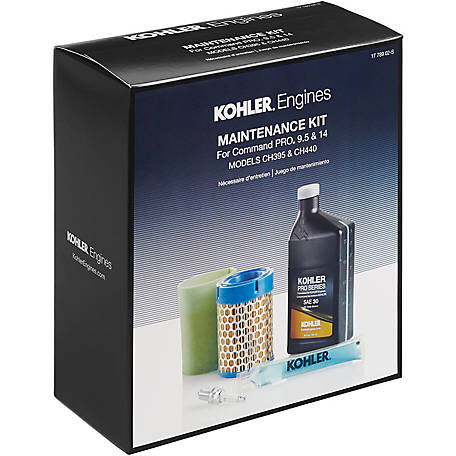 Kohler Engine Maintenance Kit for Command PRO CH395, CH440 Single Cylinder