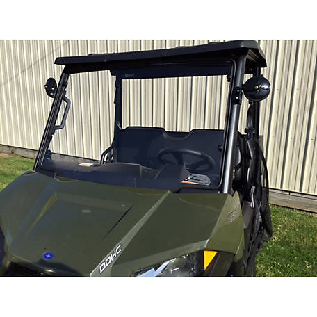 Extreme Metal Products 2015-2018 Mid-Size Polaris Ranger Hard Coated Windshield
