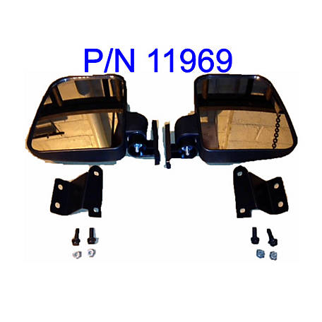 Extreme Metal Products Ranger Side Mirrors For Pro Fit Cage