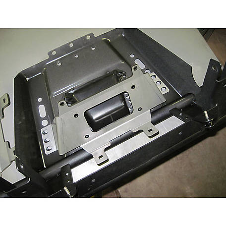 Extreme Metal Products Mid-Size Ranger Winch Mounting Plate