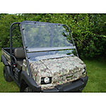 Extreme Metal Products Kawasaki Mule 4010 Flip-Up Hard-Coated Windshield