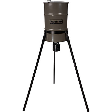 Moultrie 30 gal. Pro Hunter Tripod Deer Feeder, MFG-13060