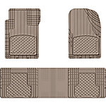 WeatherTech All-Vehicle Front and Rear OTH Mat Set, Tan