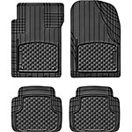 WeatherTech Front and Rear AVM 4-Piece Set, Black