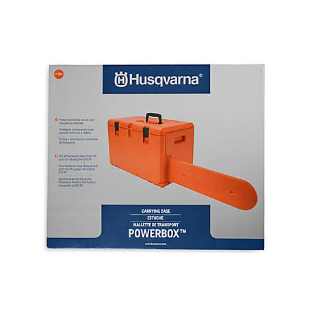 Husqvarna Powerbox Chainsaw Carrying Case, 576739001