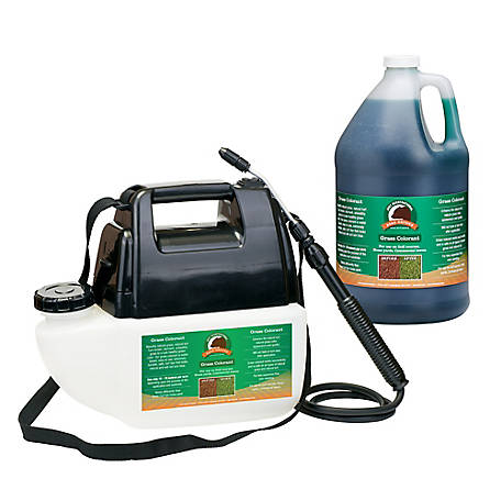 Just Scentsational Green Up Grass Colorant with 1 gal. Battery Powered Sprayer, GUGC-PS1