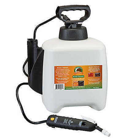 Just Scentsational Black Bark Mulch Colorant Gal Pump Sprayer, MC-1FBL