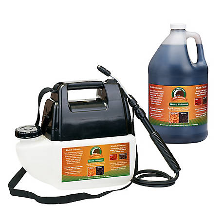Just Scentsational Blk Bark Mulch Colorant 1 gal. Battery Sprayer, MCBPS-1BL