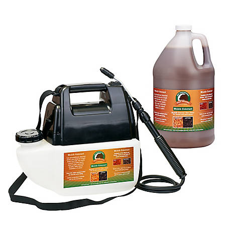 Just Scentsational Brn Bark Mulch Colorant 1 gal. Battery Sprayer, MCBPS-1BRN