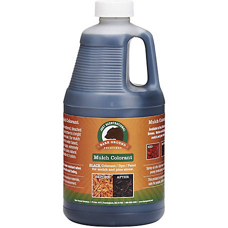 Just Scentsational Black Bark Mulch Colorant .5 gal., MC-64BL
