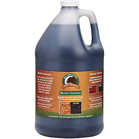 Just Scentsational Black Bark Mulch Colorant 1 gal., MC-128BL