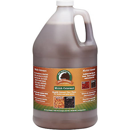 Just Scentsational Brown Bark Mulch Colorant 1 gal., MC-128BRN