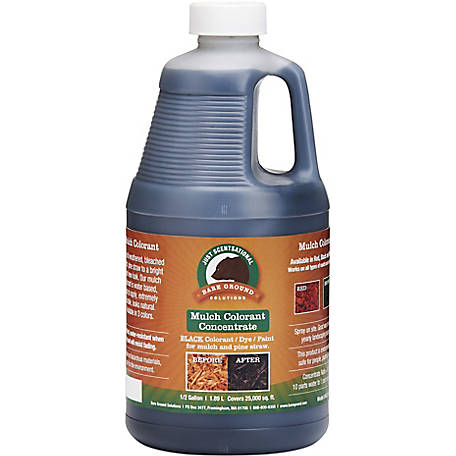Just Scentsational Black Bark Mulch Colorant Concentrate .5 gal., MCC-64BL