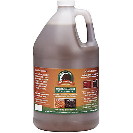 Just Scentsational Brown Bark Mulch Colorant Concentrate 1 gal., MCC-128BRN