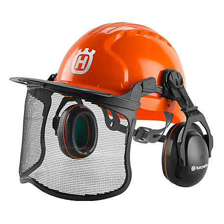 cfd70235 Husqvarna Pro Forest Functional Protective Helmet at Tractor Supply ...
