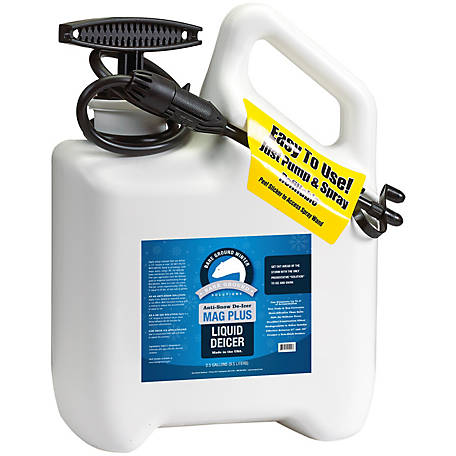 Bare Ground Mag Plus Deluxe System with Pump Sprayer and 1 gal. of Liquid Deicer, BGDS-1