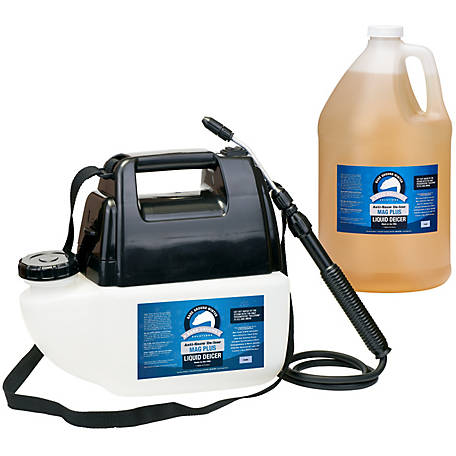 Bare Ground Battery Mag Plus Powered Sprayer with 1 gal. of Liquid Deicer, BGPS-1